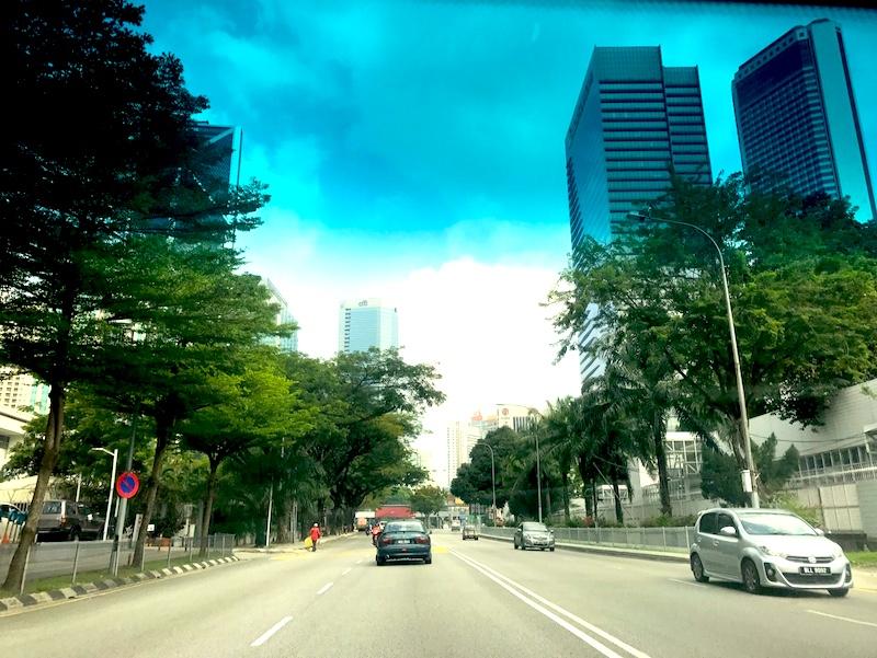 Ampang in Kuala Lumpur Malaysia