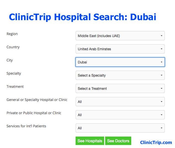 Hospitals Dubai