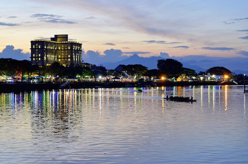 Kuching Borneo travel